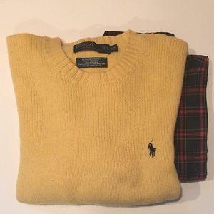 PRL wool blend.